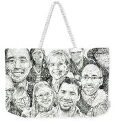 100 Words Why I Am A Christian Weekender Tote Bag