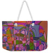 1008 Abstract Thought Weekender Tote Bag