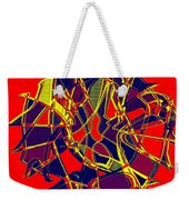 1010 Abstract Thought Weekender Tote Bag