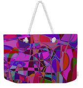 1017 Abstract Thought Weekender Tote Bag