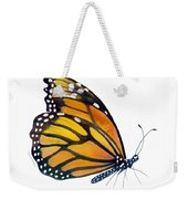 103 Perched Monarch Butterfly Weekender Tote Bag