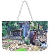 Sixes Mill On Dukes Creek - Square Weekender Tote Bag