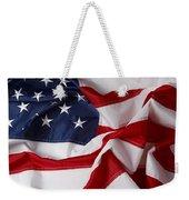 American Flag 34 Weekender Tote Bag