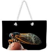 A Detailed View Of A Brood II Cicada Weekender Tote Bag
