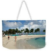 Beach At Coco Cay Weekender Tote Bag
