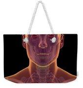 Bones Of The Head And Neck Weekender Tote Bag