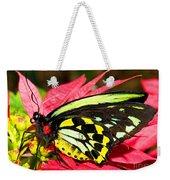Cairns Birdwing Butterfly Weekender Tote Bag