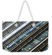 Canary Wharf London Abstract Weekender Tote Bag