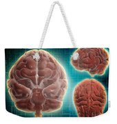 Conceptual Image Of Human Brain Weekender Tote Bag