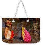 Hampi Ghats Weekender Tote Bag