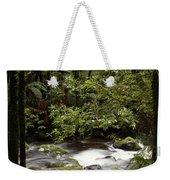 Jungle Stream Weekender Tote Bag