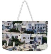 Mykonos Town Weekender Tote Bag