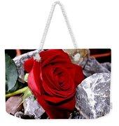 Red Rose Weekender Tote Bag