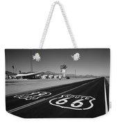 Route 66 Shield Weekender Tote Bag