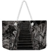 Staircase Leading To A Higher Level In Siloso Hotel In Sentosa Weekender Tote Bag