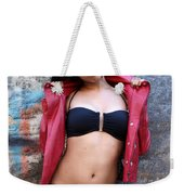Young Hispanic Woman Weekender Tote Bag
