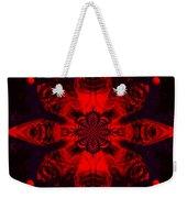 1107 - Mandala Red   Weekender Tote Bag