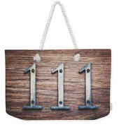 111 Or 3 Weekender Tote Bag