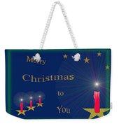117 - Christmas Card Weekender Tote Bag