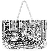 Adam And Eve.  Weekender Tote Bag