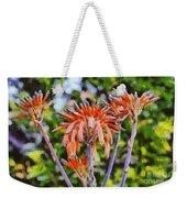 Aloe Vera Flowers Weekender Tote Bag