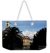 Alpine Village Weekender Tote Bag