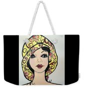 Flapper Girl Claire Weekender Tote Bag