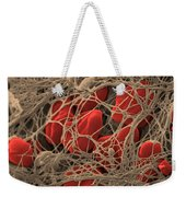 Blood Clot Weekender Tote Bag