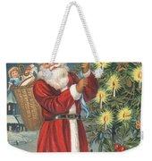 Christmas Card Weekender Tote Bag