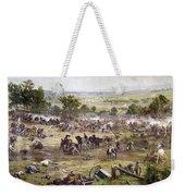 Civil War Gettysburg Weekender Tote Bag