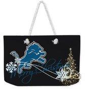 Detroit Lions Weekender Tote Bag