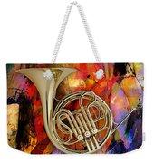 French Horn Weekender Tote Bag