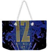 12 In  Blue Weekender Tote Bag
