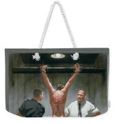 12. Jesus Is Beaten / From The Passion Of Christ - A Gay Vision Weekender Tote Bag