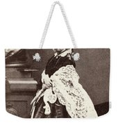 Queen Victoria (1819-1901) Weekender Tote Bag