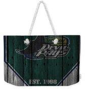 Tampa Bay Rays Weekender Tote Bag