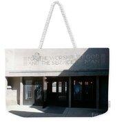 Unity Temple Weekender Tote Bag