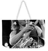 Guitarist Eddie Van Halen Weekender Tote Bag