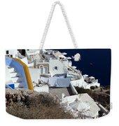 Views From Santorini Greece Weekender Tote Bag