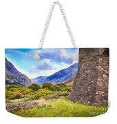 Welsh Mountains Weekender Tote Bag