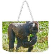 Western Lowland Gorilla Weekender Tote Bag
