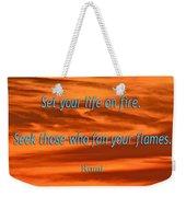 120- Rumi Weekender Tote Bag
