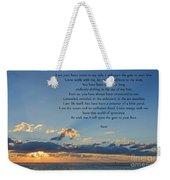 129- Rumi Weekender Tote Bag