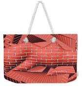 1295 Abstract Thought Weekender Tote Bag