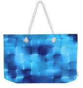 Blue Squares Weekender Tote Bag