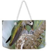 Annas Hummingbird Weekender Tote Bag