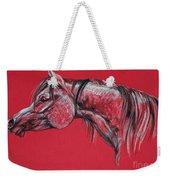 Arabian Horse  Weekender Tote Bag by Angel  Tarantella