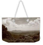 Blue Ridge Mountains - Virginia Sepia 8 Weekender Tote Bag