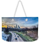Charlotte Downtown Weekender Tote Bag