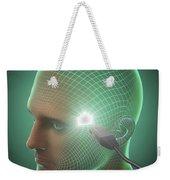 Digital Connection Weekender Tote Bag